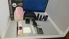 Sensationail gel Starter Kit 2x faster Drying Uv Lamp. Lightly Damaged boxes