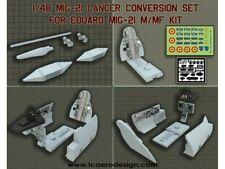 Icaerodesign 1/48 MIG 21 LANCER Conversion Kit For 1/48 EDUARD MIG 21 M/MF