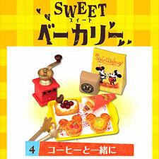 Rare! Re-ment Miniature Disney Mickey & Minnie Sweet Bakery No.4 Sweet Danishes