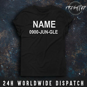 Im A Celebrity Jungle T Shirt Name Personalized Fancy Dress Funny Gift TV Show