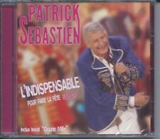 CD Patrick Sébastien L'indispensable  pour faire la fête Neuf sous cellophane