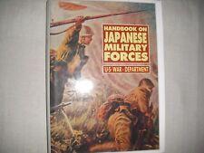handbook on japanese military forces / U.S. War Department