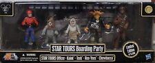 STAR TOURS BOARDING PARTY Teek Kaink Disney Chewbacca 2010 Wars Set Ride LE NEW