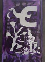 Vintage Georges Braque Abstract Lithograph Chappelle St. Bernard
