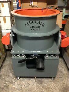 Gleitschleifmaschine,Gleitschleifanlage mit Compoundtank! Felgenpoliermaschine!