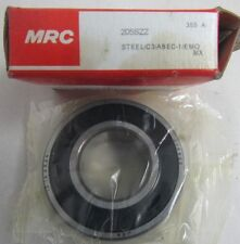 MRC SINGLE ROW BALL  BEARING 205SZZ (ID-25MM X OD-52MM X WIDTH-15MM)