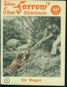 Jörn Farrow´s U-Boot Abenteuer Nr.71 von 1954 - TOP Z0-1 ORIGINAL ROMANHEFT
