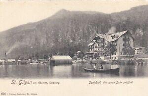 St.Gilgen am Wolfgangsee, Seehôtel - das ganze Jahr geöffnet ... ngl G4531