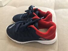 Fila Boys Athletic Shoes Size 11 Blue Red  Light
