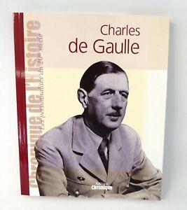 Général De Gaulle Chronique de l'Histoire - livre illustré + affiches + photos