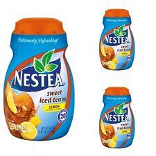 Nestea Sweet Iced Tea Mix Lemon 45.1 oz x 3 pack Exp 2018
