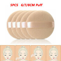 5PCS Soft Facial Beauty Sponge Powder Puff Pads Face Foundation Cosmetic Tool'
