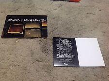 DONAVON FRANKENREITER 2 sided 6x4. POSTCARD (PROMO the LP CD DVD) album OOP