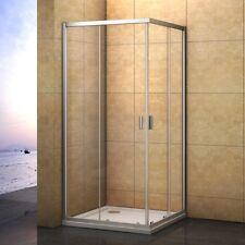 700x700mm Double Sliding Door Shower Enclosure Corner Entry Glass Cubicle