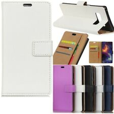 Hot Flip Wallet Magnetic Card Leather Case Cover For Samsung Galaxy Phone Model