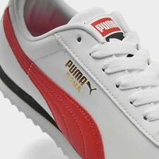 PUMA Roma Basic High Risk White Red Mens Shoes Sneakers 36957111 Sizes 7.5-12