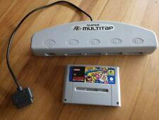 SNES - Super Multitap und Super Bomberman - Super Nintendo