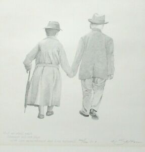 "ROBERT SEXTON ""THE VOW""  LIMITED EDITION HAND SIGNED LITHOGRAPH"