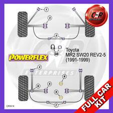 Fits Toyota MR2 SW20 REV 2 (91-92)  Powerflex Complete Bush Kit