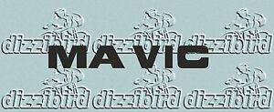 MAVIC VINTAGE RIM DECALS - V2