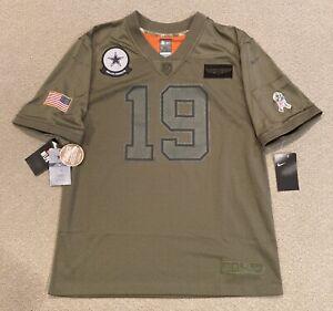 Nike Amari Cooper #19 Dallas Cowboys Salute To Service Camo NFL Jersey Youth XL