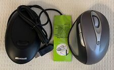 Microsoft Natural Wireless Laser Mouse 6000 Metallic Gray 69k-00001
