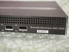 Brocade ServerIron ADX 1008-1-PREM Load Balancer SI-1008-1-PREM 8GE AC