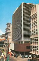 Rare Vintage Postcard - American International Building - Singapore Unposted.