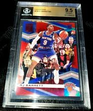 RJ BARRETT 19-20 ELITE ASPIRATIONS RED PARALLEL ROOKIE RC NY KNICKS 8/91 BGS 9.5