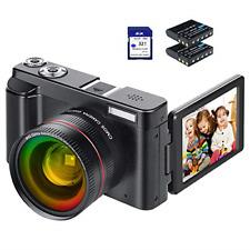 Digital Camera Video Camera Camcorder HD 1080P YouTube Vlogging Camera 24MP 3.0