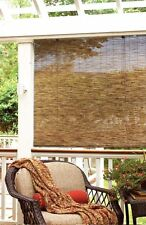 """Bamboo Reed Blinds Indoor Outdoor Roll Up Shade Patio Window  Porch 72"""" x 72"""" NE"""