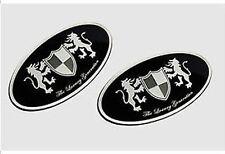 Front Hood + Rear Trunk Lid Tuning Emblem 2p For 2013-2016 Kia Cadenza : K7