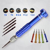 5 in1 Repair Opening Tool Magnetic Screwdrivers Kit Set For Phone  wv