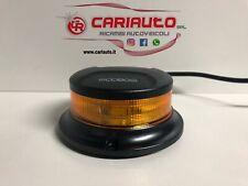 Mini Lampeggiante Flash a Led Trattore Base Magnetica Presa Accendisigari 12/24V