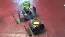 New Partylite catepillar candle holder set one big and one small you get two -