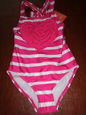NWT Gymboree Valentine's day 3-D ruffled Heart  swimsuit bathing suit 5t 5