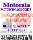 PERMANENT UNLOCK CODE FOR Motorola DROID RAZR M