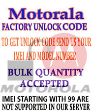 PERMANENT UNLOCK CODE FOR  Motorola A1800