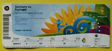 FIFA World Cup 2014 Match 13 Germany Portugal Ticket