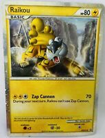 Authentic Railkou Pokemon Card New