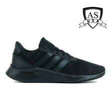 Kids Adidas Lite Racer 2.0 Youth Sneakers Shoes Size 3 Black Athletic Eh1426
