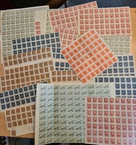 Ukraine alte Briefmarken Einheiten Bogenteile viel postfrisch** Sammlung Lot