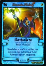 WIZARDS OF MICKEY Macchia Nera 151/150 FOIL LE ORIGINI ITA NEAR MINT