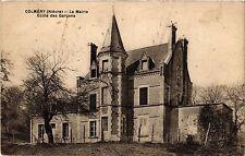 CPA  Colméry(Niévre) - La Mairie -Ecole des Garcons   (293182)
