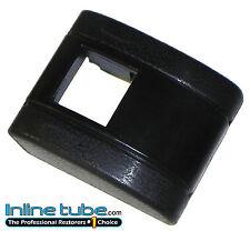 1967-72 GM all Models Plastic Standard Shoulder Lap Seat Belt Buckle Cover BLACK