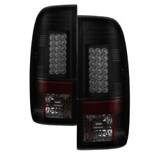 Spyder 5083296 LED Tail Lights Black Smoke For 08-16 Ford F-250 Super Duty NEW
