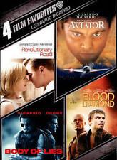 Leonardo DiCaprio: 4 Film Favorites New DVD