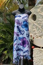 Bali Beach Sarong - Summer Beach Sarong - Bikini Cover Up - NEW 2 COLOURS AVAIL.