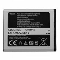 Authentic OEM Samsung AB474350BA Battery For Highlight SGH-t749 1200mAh Li-ION