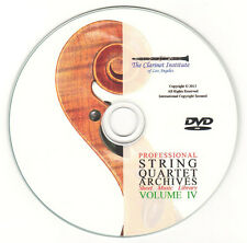 String Quartet Sheet Music Volume 4 DVD PDF